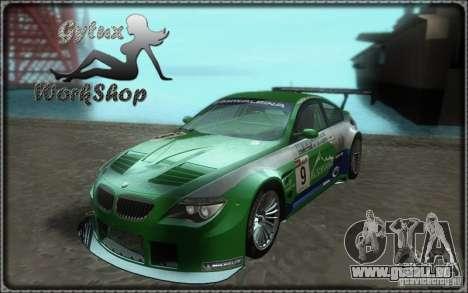 Alpina B6 GT3 pour GTA San Andreas