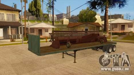 Chalut pour GTA San Andreas vue de côté
