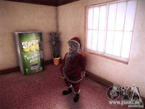 Santa Claus für GTA San Andreas
