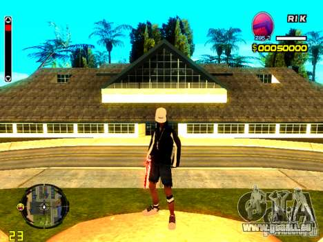 Haut Penner v8 für GTA San Andreas her Screenshot