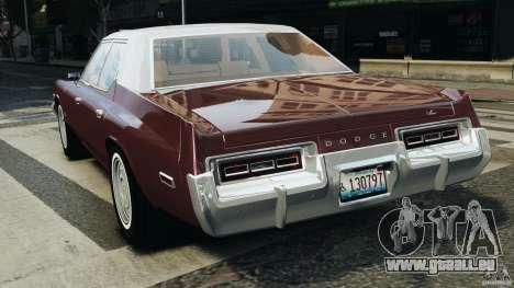 Dodge Monaco 1974 v1.0 pour GTA 4 Vue arrière de la gauche