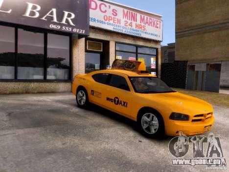 Dodge Charger NYC Taxi V.1.8 für GTA 4 Innenansicht
