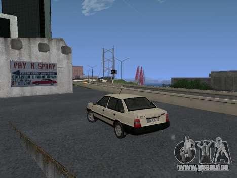 FSO Polonez Atu 1.4 GLI 16v pour GTA San Andreas vue arrière