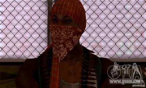 Pirate pour GTA San Andreas quatrième écran
