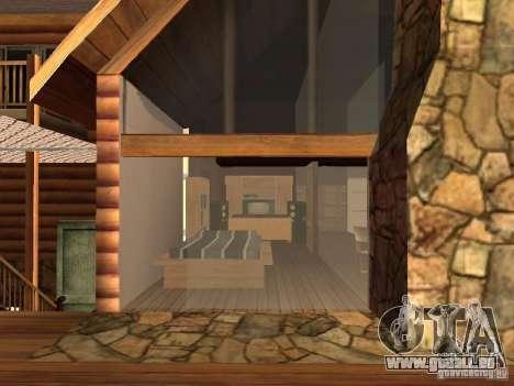 Villa in San Fierro für GTA San Andreas sechsten Screenshot