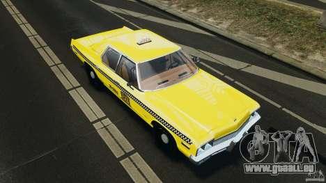 Dodge Monaco 1974 Taxi v1.0 für GTA 4-Motor