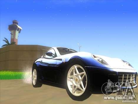 Ferrari 599 GTB Fiorano für GTA San Andreas linke Ansicht