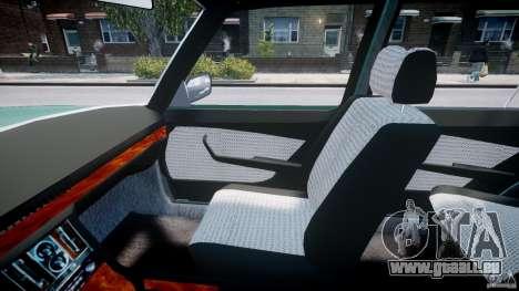 Mercedes-Benz 280SE W116 für GTA 4 Innenansicht
