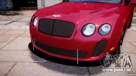 Bentley Continental SS v2.1 pour GTA 4 vue de dessus