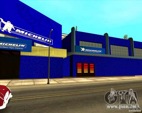 Garage Michelin für GTA San Andreas