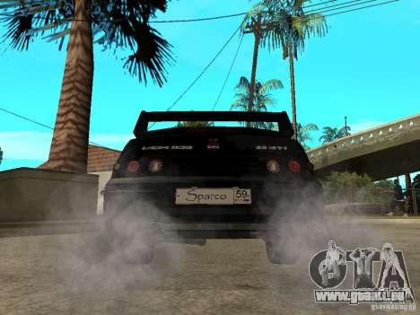 VAZ 2110 Penza Tuning pour GTA San Andreas sur la vue arrière gauche