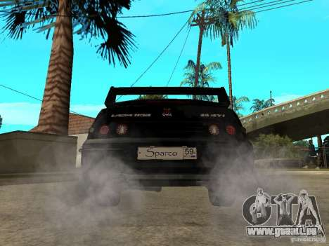 VAZ-2110-Pensa-Tuning für GTA San Andreas zurück linke Ansicht