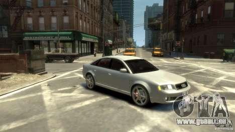Audi RS6 2003 für GTA 4 rechte Ansicht