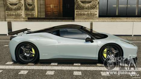 Ferrari 458 Italia 2010 [Key Edition] v1.0 für GTA 4 linke Ansicht