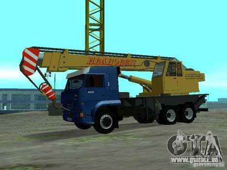 KAMAZ 65117 Ivanovets pour GTA San Andreas