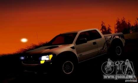 Ford F-150 SVT Raptor V1.0 pour GTA San Andreas moteur