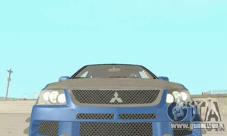 Mitsubishi Lancer Evolution IX Wagon MR Drift pour GTA San Andreas vue de côté