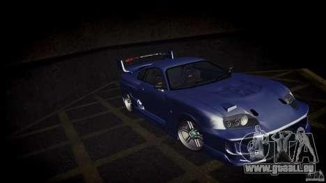 Toyota Supra Tuned für GTA San Andreas linke Ansicht