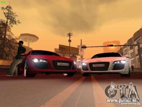 Audi R8 pour GTA San Andreas