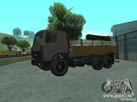 Manipulateur MAZ 6317 pour GTA San Andreas