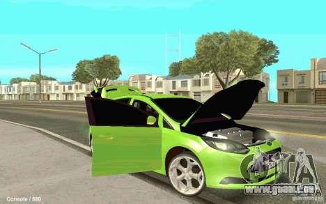 Ford Focus pour GTA San Andreas vue de droite