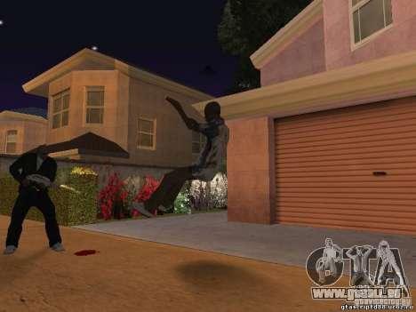 Die Wirkung der Schuss aus nächster Nähe für GTA San Andreas