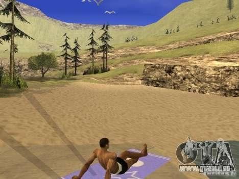 Natte de repos pour GTA San Andreas deuxième écran
