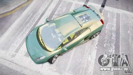 Lamborghini Gallardo pour GTA 4 est un droit
