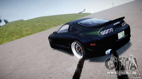 Toyota Supra JZA80 für GTA 4 Unteransicht