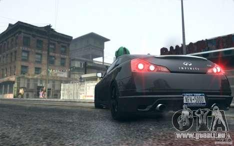 Infiniti G37 Coupe Carbon Edition v1.0 für GTA 4 rechte Ansicht