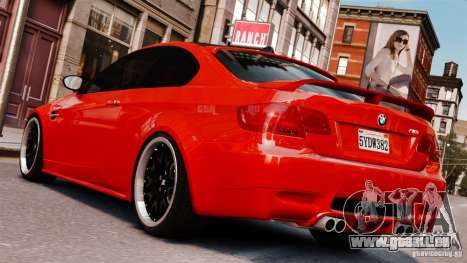 BMW M3 E92 2009 HAMANN für GTA 4 linke Ansicht