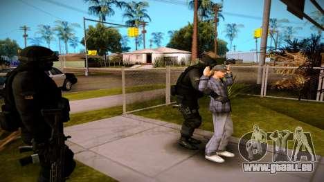 S.W.A.T. pour GTA San Andreas troisième écran