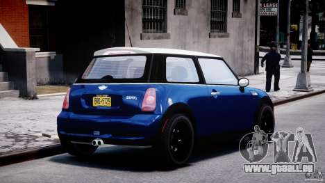 Mini Cooper S 2003 v1.2 für GTA 4 Seitenansicht