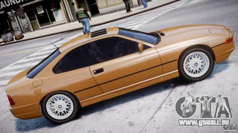 BMW 850i E31 1989-1994 für GTA 4 linke Ansicht