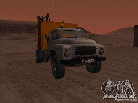 ZIL 431410 camion à ordures pour GTA San Andreas