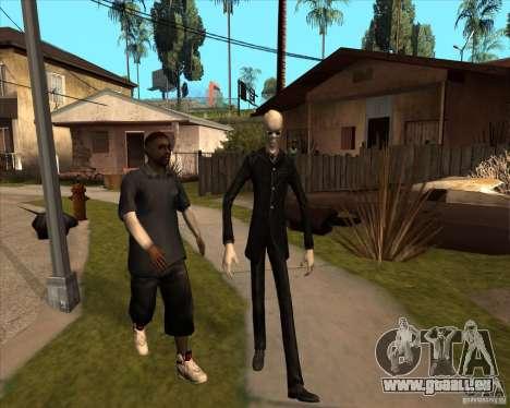 Slender en lunettes noires pour GTA San Andreas