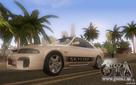 Nissan Skyline R33 GTS25t Stock pour GTA San Andreas vue intérieure