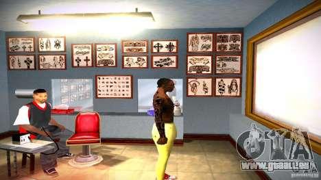 Drei neue Tätowierung für GTA San Andreas achten Screenshot