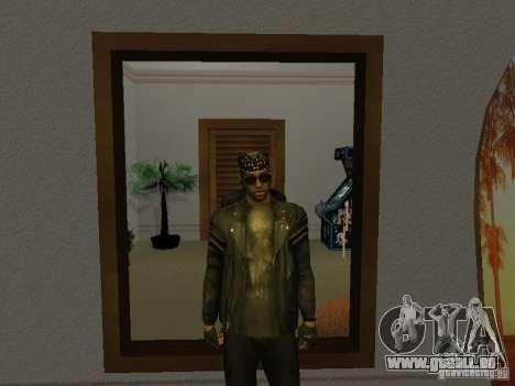 Veste de crâne pour GTA San Andreas deuxième écran