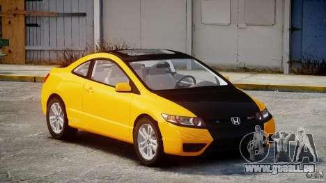 Honda Civic Si Coupe 2006 v1.0 pour GTA 4
