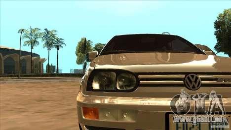 Volkswagen Golf MK3 VR6 für GTA San Andreas Seitenansicht