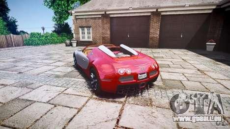 Bugatti Veyron Grand Sport [EPM] 2009 pour GTA 4 est une vue de l'intérieur