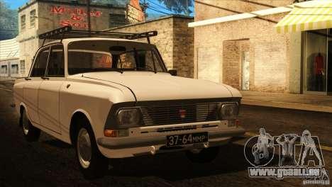 Moskvich 412 v2. 0 für GTA San Andreas