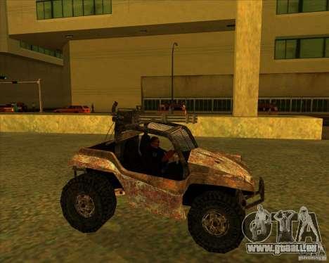 Desert Bandit für GTA San Andreas linke Ansicht