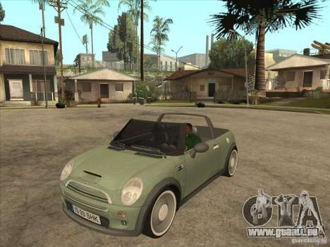Mini Cooper S Cabrio für GTA San Andreas linke Ansicht