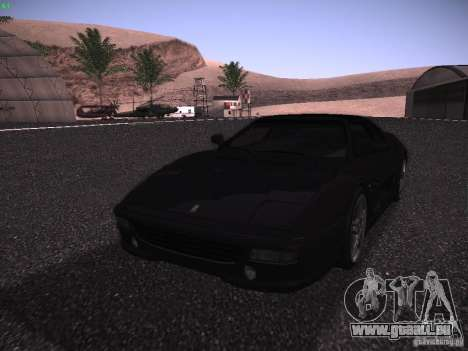 Ferrari F355 Targa für GTA San Andreas Seitenansicht