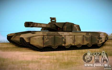 A-8 Tiger für GTA San Andreas rechten Ansicht