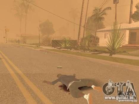 Tremblement de terre pour GTA San Andreas quatrième écran