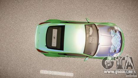 Nissan 350Z Underground 2 Style pour GTA 4 Vue arrière