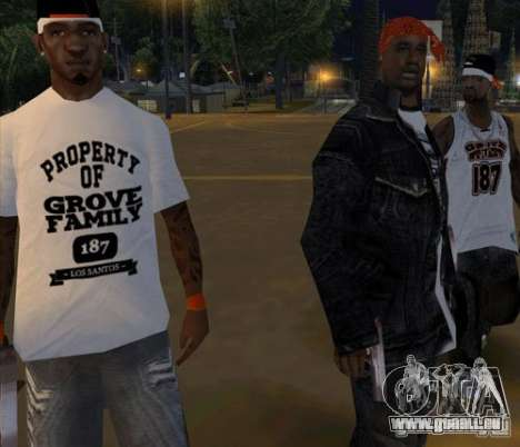 Ersatz-Bands, Tätowierungen, Kleidung usw.. für GTA San Andreas zwölften Screenshot
